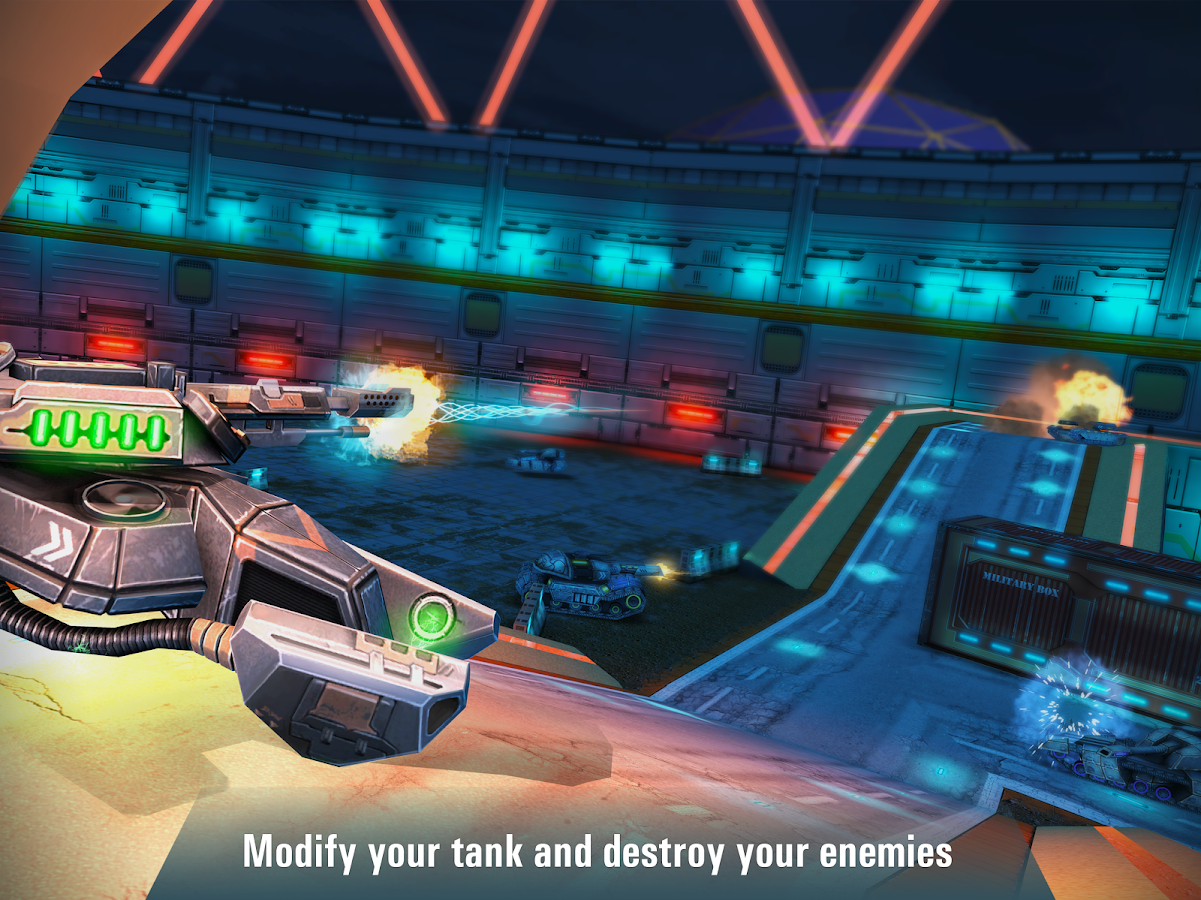 Iron Tanks: Online Battle- screenshot