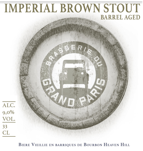 Imperial Brown Stout Bourbon Heaven Hill