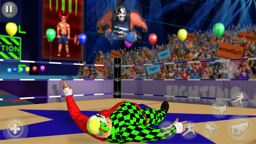 Clown Tag Team Wrestling Revolution Championship 1.7 screenshots 2