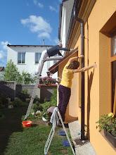 Photo: malování střechy a úklid