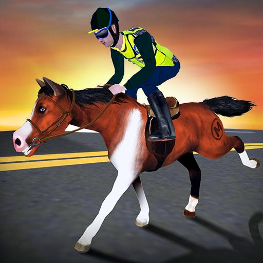 Rodeo Police Horse Simulator 模擬 App LOGO-APP開箱王