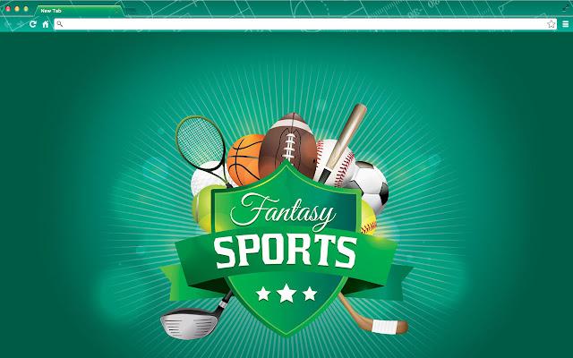 Fantasy Sports New Tab