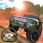 Offroad Car Driving Icon