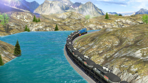 Oil Tanker Train Simulator 1.4 screenshots 3