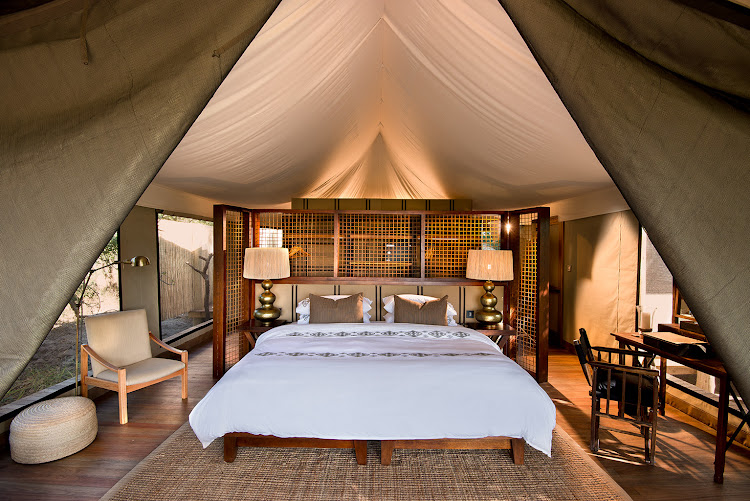 &Beyond Nxabega Okavango Tented Camp.