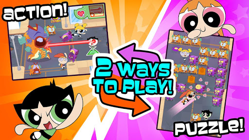 Flipped Out! - Powerpuff Girls  screenshots 1