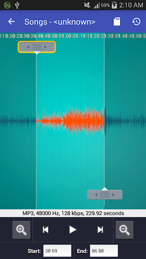 Video to MP3 Converter - MP3 Tagger 1.6.3A screenshots 7