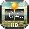 HD Weather and Clock Widget icon