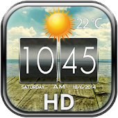 HD Weather and Clock Widget