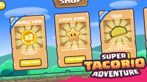 Code Triche Super Tacorio Adventure APK MOD screenshots 4