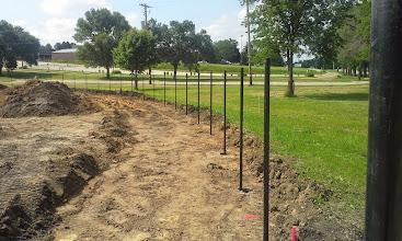 Photo: Center Field Fence 06-26-2014
