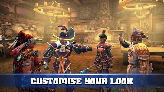 3D MMO Celtic Heroes 3.3.2 Apk Mod + Data (Unlimited Money) Latest Version Download 1