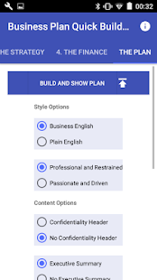 Business Plan Quick Builder- screenshot thumbnail