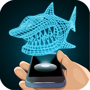 Hologram Shark 3D Simulator for PC and MAC