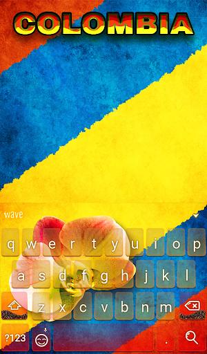 Kolumbien Animierte Tastatur Screenshots 2
