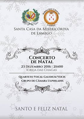 Misericórdia de Lamego oferece concerto de música clássica neste Natal