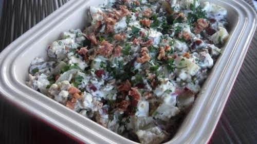 "Bacon & Bleu Cheese Potato Salad ""This is the perfect potato salad..."