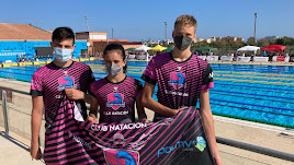 Los nadadores del Mare Nostrum en Tarragona.