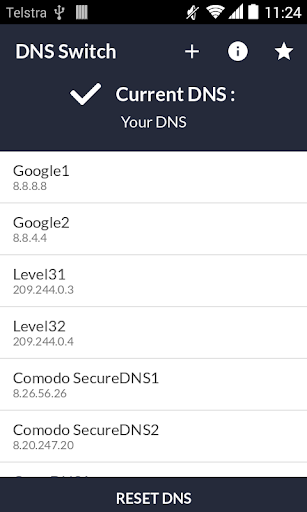DNS Switch - Unlock Region Restrict 1.6.2 screenshots 1