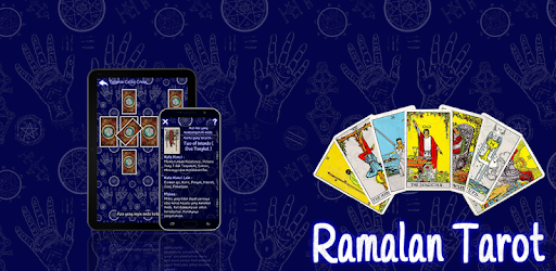 is an Indonesian language forecast application that uses tarot cards.