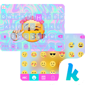 Fancy Emoji Keyboard Theme