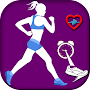 Pedometer walk counter APK icon