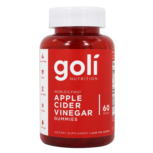 multivitaminico suplemento goli gomitas vinagre de sidra manzana 60 cap