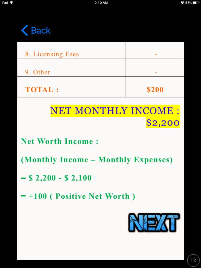 NAZ : Finance & Investing Coach- screenshot