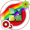 Next Launcher Theme Colorful icon