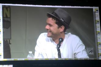 Photo: Sunday - Fringe panel; (much beloved) star Joshua Jackson.