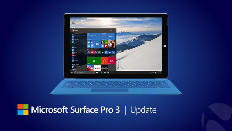 Surface Pro 3 Firmware Update