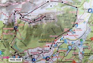 Photo: Topographic map