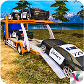 Offroad Police Transport Truck Sim
