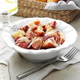German Potato Salad with Sausage.
