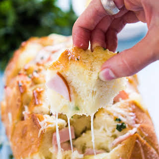Ham and Pineapple Crack Bread.