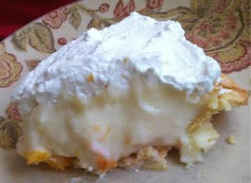 Peachy Cream Pie