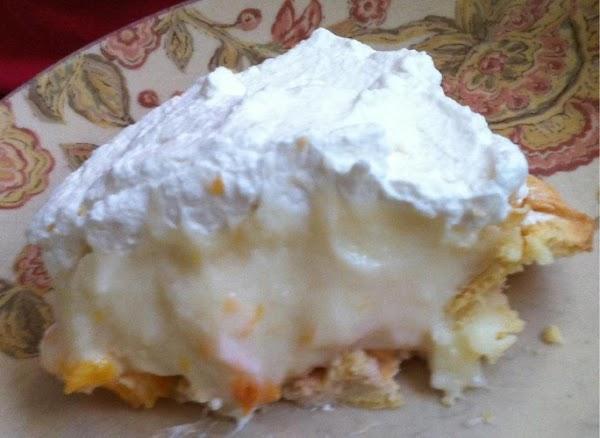 Peachy Cream Pie Recipe