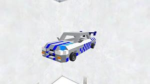 SKYLINE 修正版 タイヤ付き ワイルドスピード