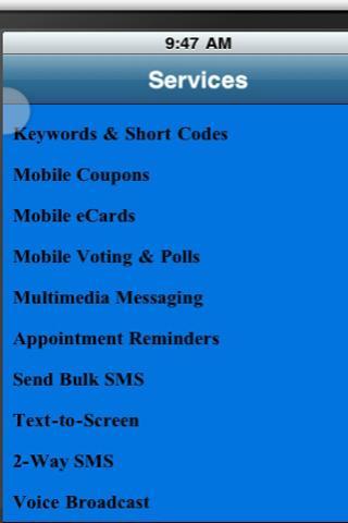 B&A Mobile Marketing screenshot 1