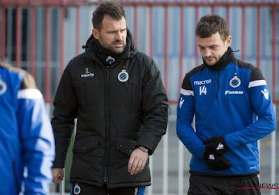 Un joueur du FC Bruges se dirige vers la Croatie