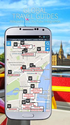 Maps, GPS Navigation & Directions, Street View screenshot 7
