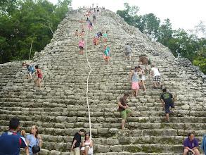 Photo: Die Pyramide in Coba