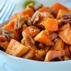 praline roasted sweet potatoes