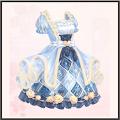 ブルーベリーロールケーキ