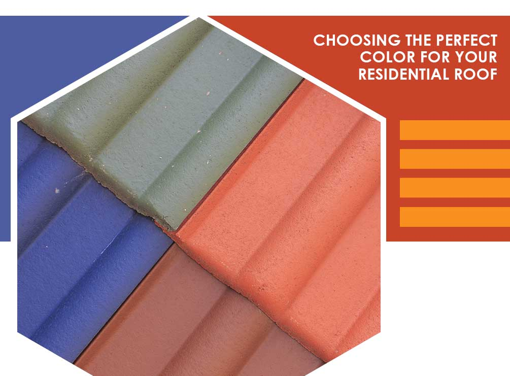Choosing the Perfect Color for Your Residential Roof