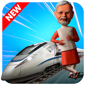 Modi Bullet Train Driving Simulator : Train games