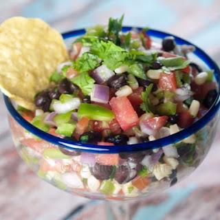 Black Bean And Shoepeg Corn Salsa