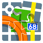 Locus 地圖 Pro- outdoor GPS icon