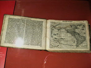 Photo: One of the earliest Mercator atlases, opened to the Americas.
