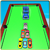 Billiards Pool Cars: Car Pool Ball Stunt
